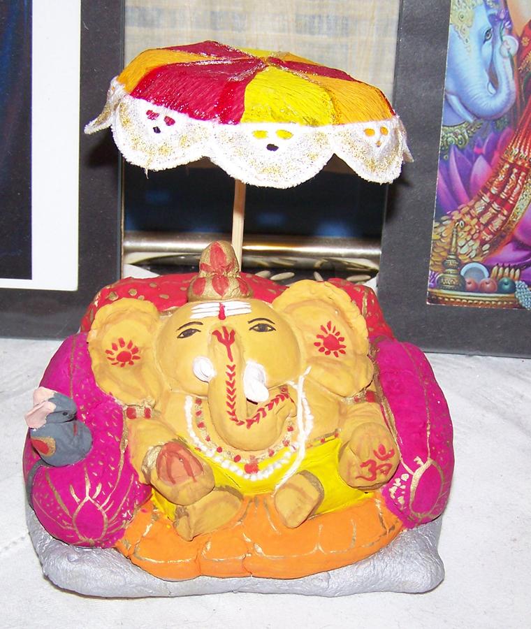 Salzteig-Murti (Ganesh Chathurhi 2011)